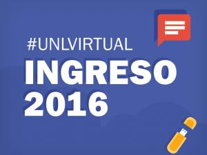 Ingreso 2016:  Inscripciones a las propuestas del Programa de Educación a Distancia UNLVirtual
