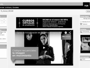 Un recorrido desde la oralidad hacia la experiencia educativa hipermedia: Cursos virtuales de posgrado