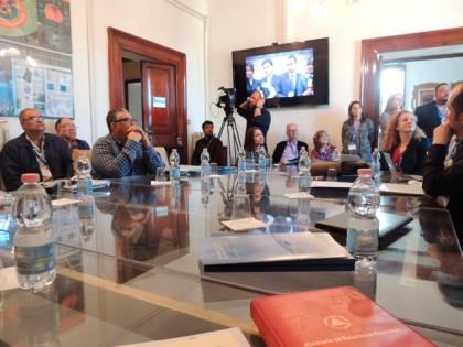 UNLVirtual participó de la segunda reunión del Proyecto ACAI-LA en Italia