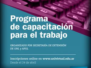 Abre la inscripción a los Cursos de Capacitación de APUL – Secretaría de Extensión (1°etapa)