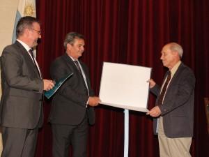 U17: Néstor García Canclini recibió el 33° Honoris Causa de la UNL