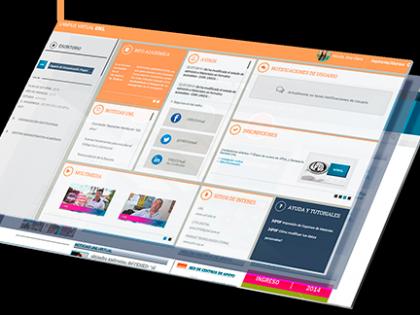 La comunicación institucional en ambientes virtuales de Coordinación Académica en UNLVirtual
