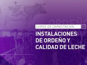 Abre la inscripción al Curso de Capacitación en Instalaciones de Ordeño y Calidad de Leche