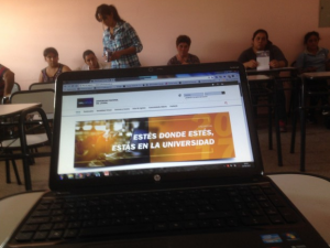 La FCV difunde su propuesta académica a distancia en el norte santafesino