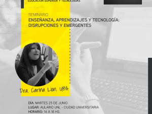 """Abre la inscripción al Programa de Formación Docente de la UNL """"Educación superior y tecnologías"""""""