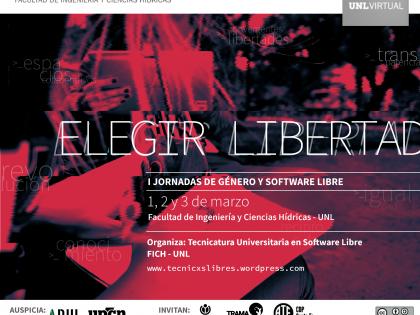 Elegir libertad: primeras Jornadas sobre Género y Software Libre en FICH