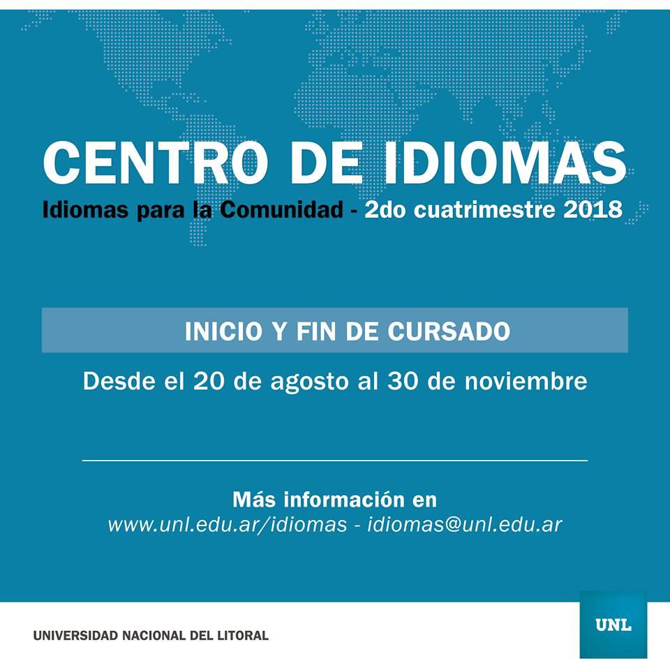 Centro de Idiomas 2º 2018