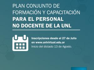 Actividades de capacitación de APUL y Secretaría General de la UNL (2ª Etapa 2018): Inscripciones abiertas