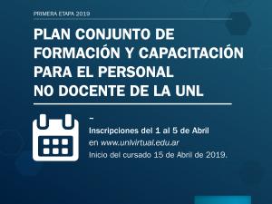 Inscripciones abiertas a la 1ª etapa del Programa de Capacitación de APUL y Secretaría General de la UNL