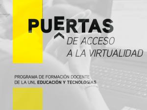 """Se encuentra abierta la inscripción a los Talleres del Programa de Formación Docente de la UNL """"Educación superior y tecnologías"""""""