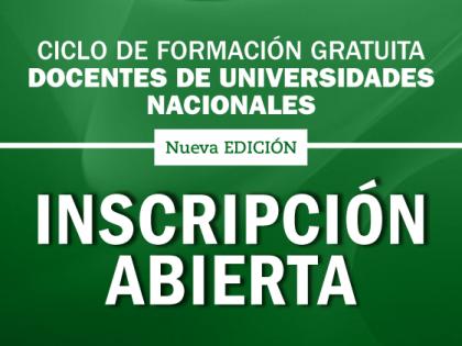 ADUL-UNL: Abre la inscripción para docentes a una nueva edición de propuestas de formación integrada por dos seminarios