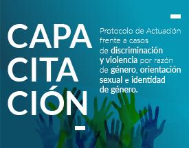 El equipo de CEMED participó de una capacitación sobre el Protocolo de Actuación frente a casos de discriminación y violencia por razón de género, orientación sexual e identidad de género