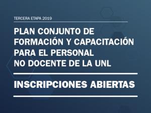 Inscripciones abiertas a la 3ª etapa del Programa de Capacitación de APUL y Secretaría General de la UNL