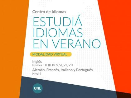 El Centro de Idiomas de la UNL abre las inscripciones a los Cursos de Verano 2021