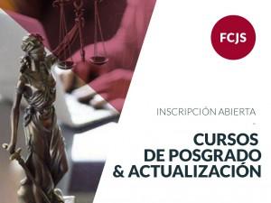 Inscripciones abiertas a la 2da edición de los Cursos de Posgrado y Actualización de Jurídicas