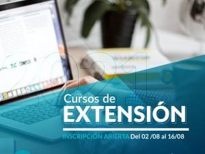 Abre la inscripción a la 2da edición de los cursos de Extensión a Distancia