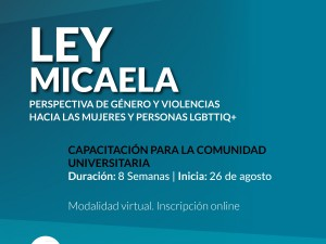 Capacitación: Ley Micaela